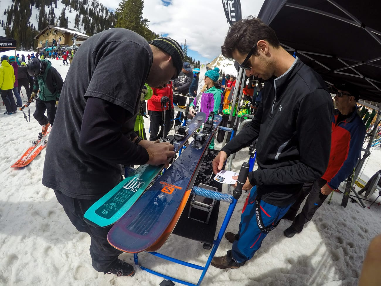 Alta Ski Resort Demo Day