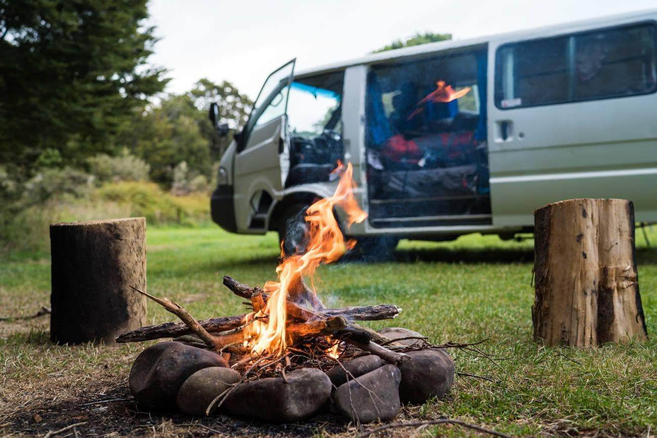 Learn how to be fire smart while camping whether you're cooking over the fire or making a fire for warmth read more to be prepared.