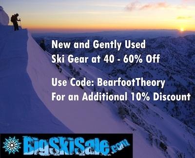 Big Ski Sale - save money on ski gear