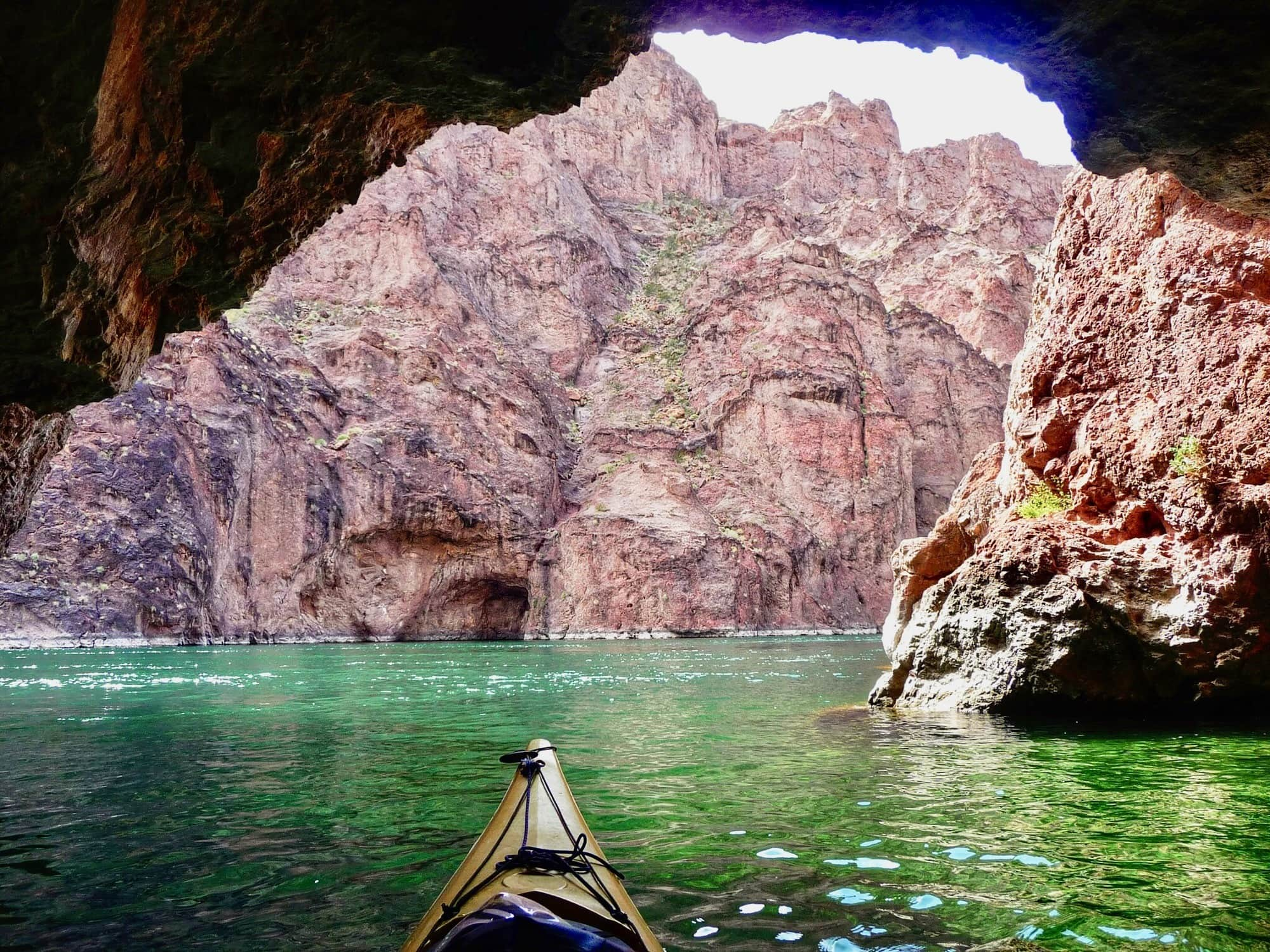 A Secret Vegas Oasis: Kayaking the Vegas Black Canyon