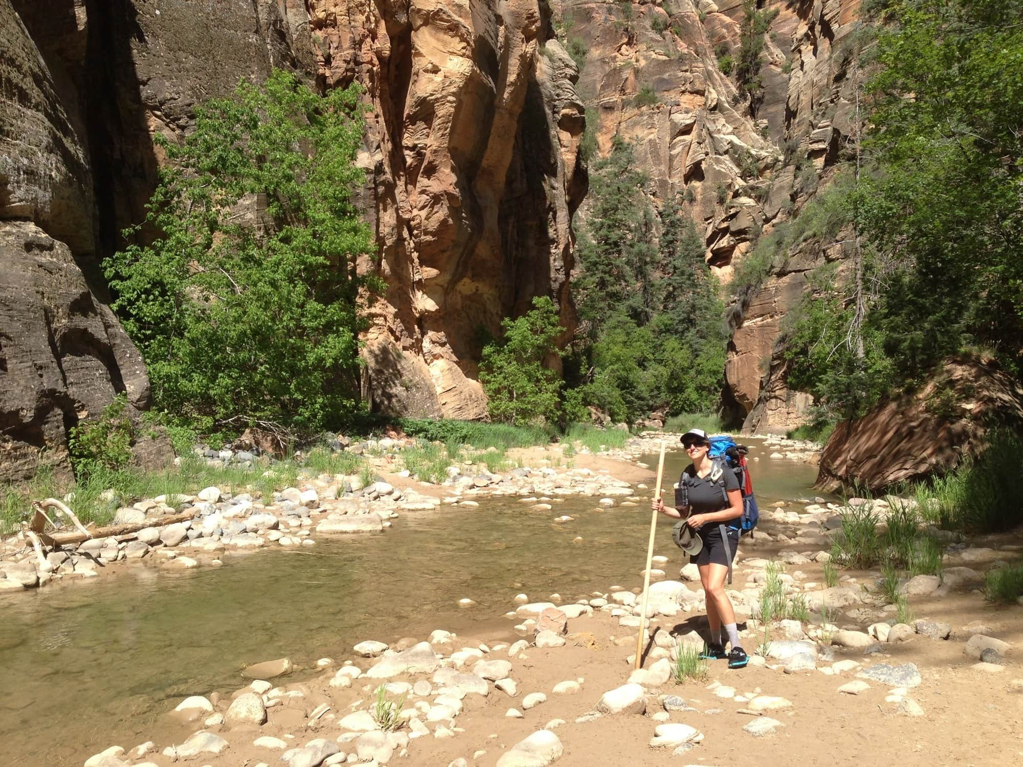 Hiking the Zion Narrows: What Gear to Bring