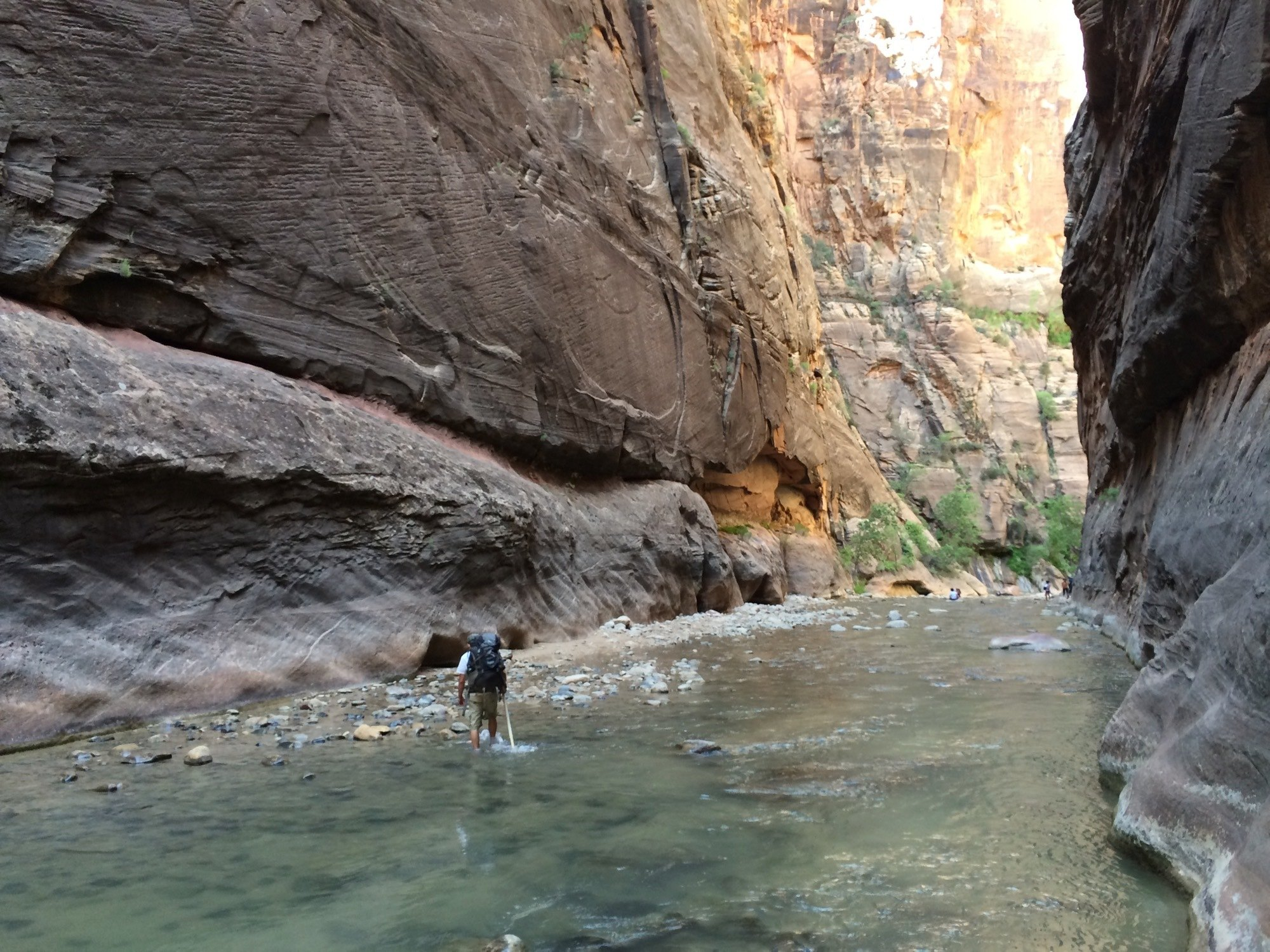 The Zion Narrows // Explore Utah National Parks in this 10-day road trip itinerary w/ the best hikes, activities & camping in Zion, Bryce, Capitol Reef, Arches & Canyonlands.