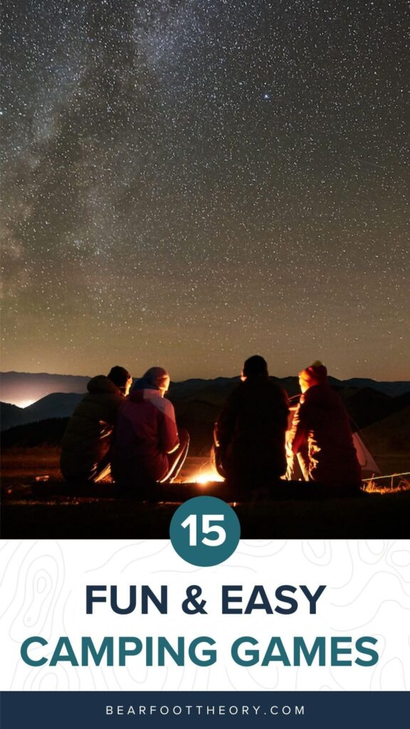 Check out these 15 fun, lightweight, and packable camping games that can be played in your tent, car, or around the fire.