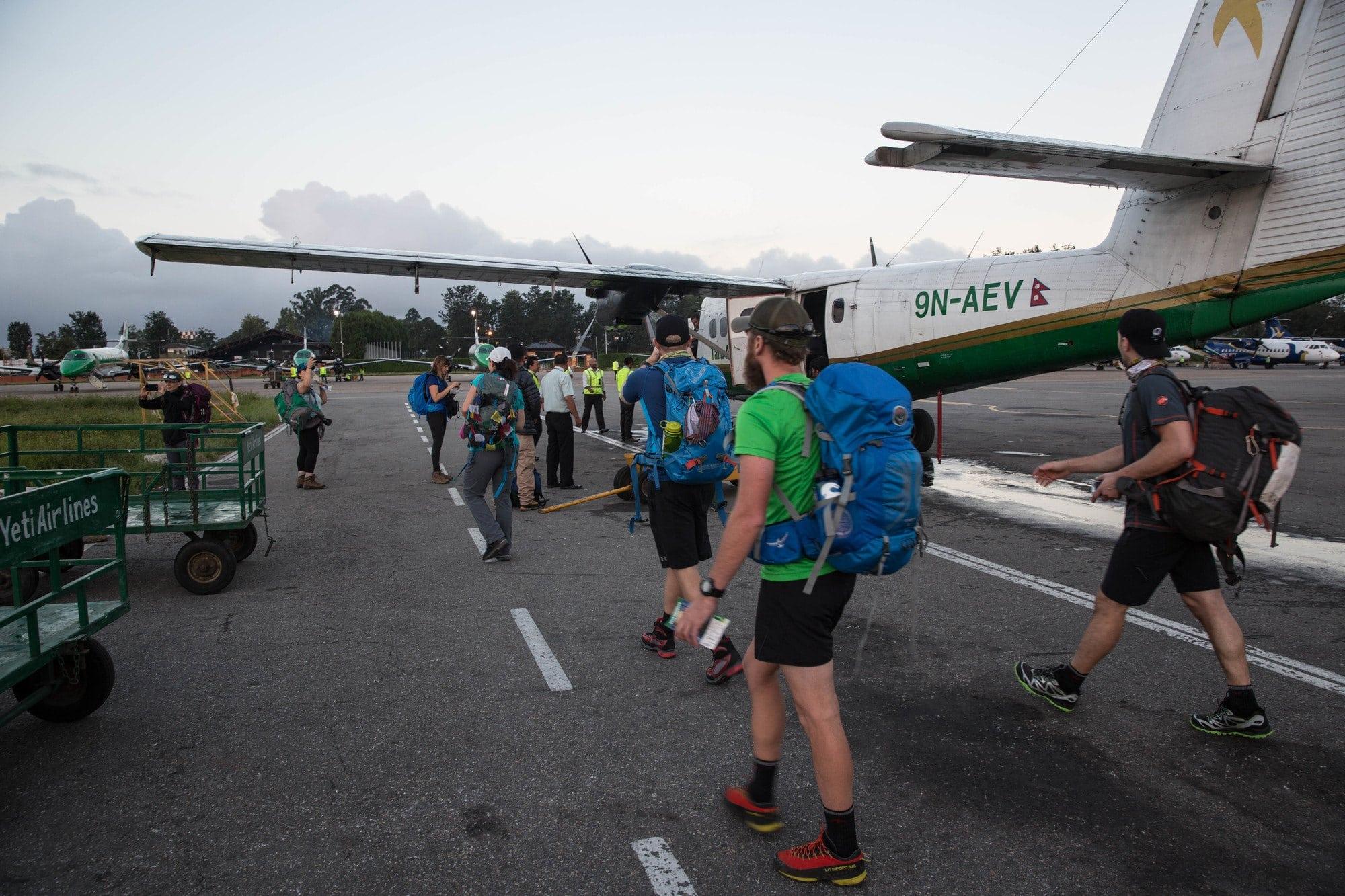 Flight to Lukla - Everest Base Camp Trek