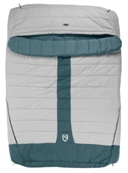 NEMO Jazz Luxury / Get cozy with the best dual sleeping bags including warm, comfortable two person options ideal for camping and backpacking.