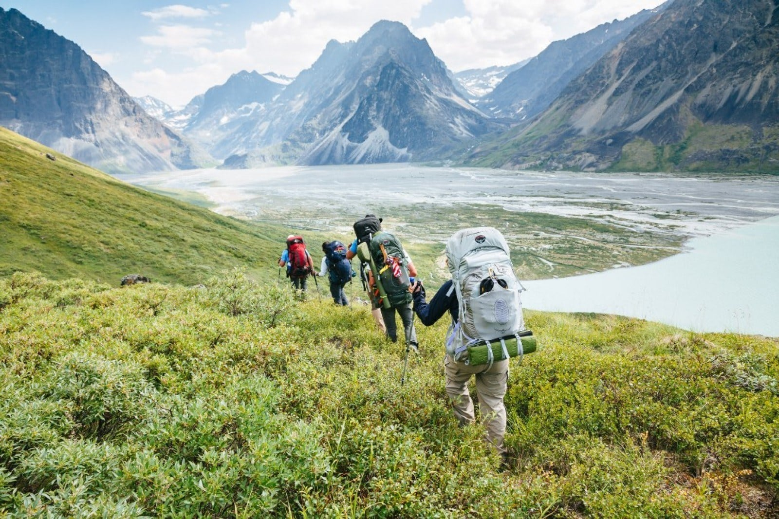 Alaska Wilderness Backpacking Trip // Want to improve your outdoor skills, see incredible places & meet fun people? Join one of Bearfoot Theory's group adventure tours in 2017!