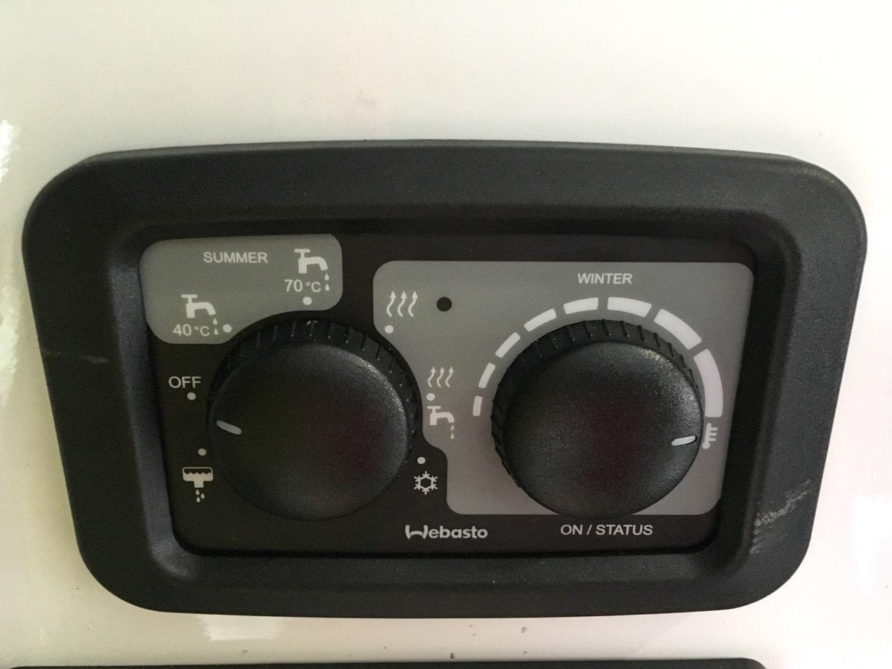 Webasto Dual Top EVO 6 in Sprinter Van