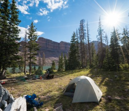 HOW T PLAN A BACKPACKING TRIP