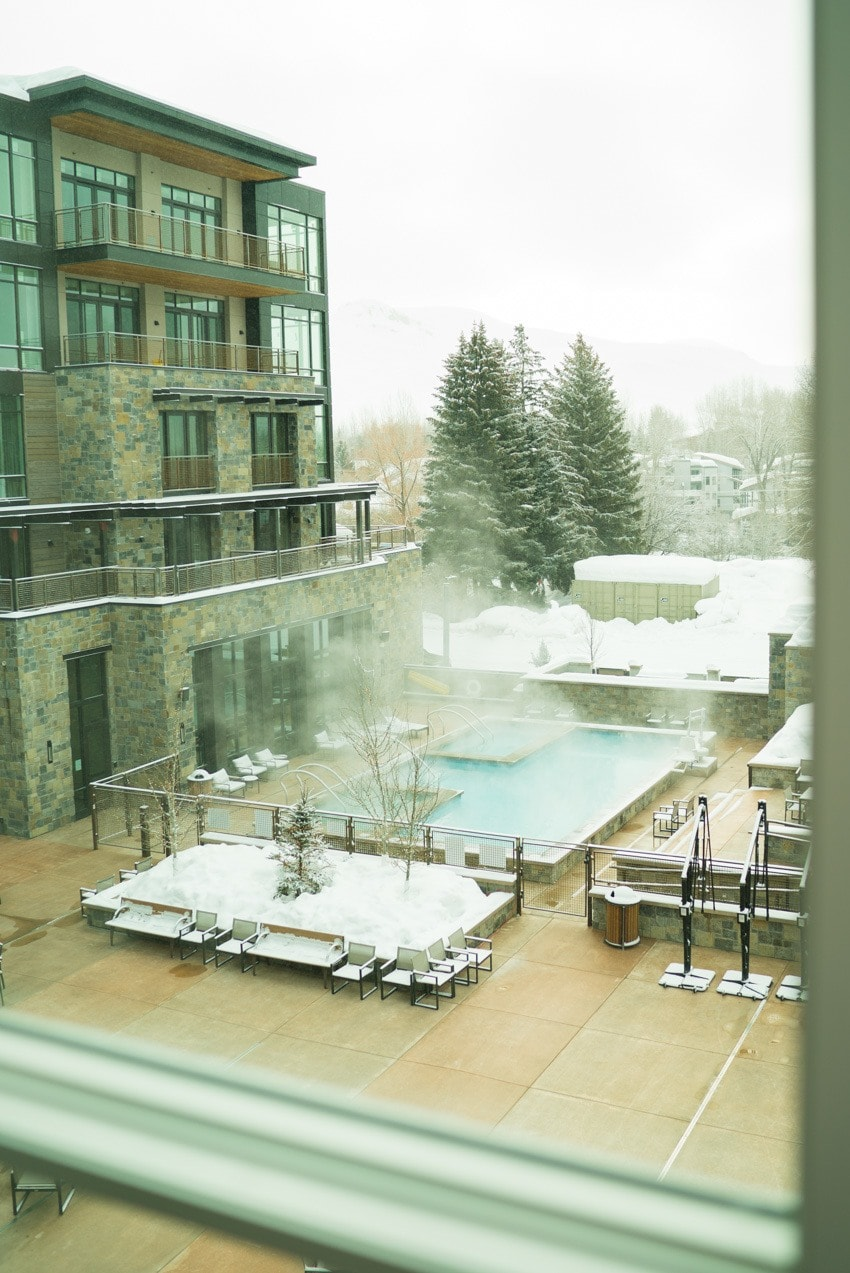 A hotel review & photos of Idaho's newest and hottest place to stay in Sun Valley - the Limelight Hotel Ketchum has it all and is pet-friendly too.