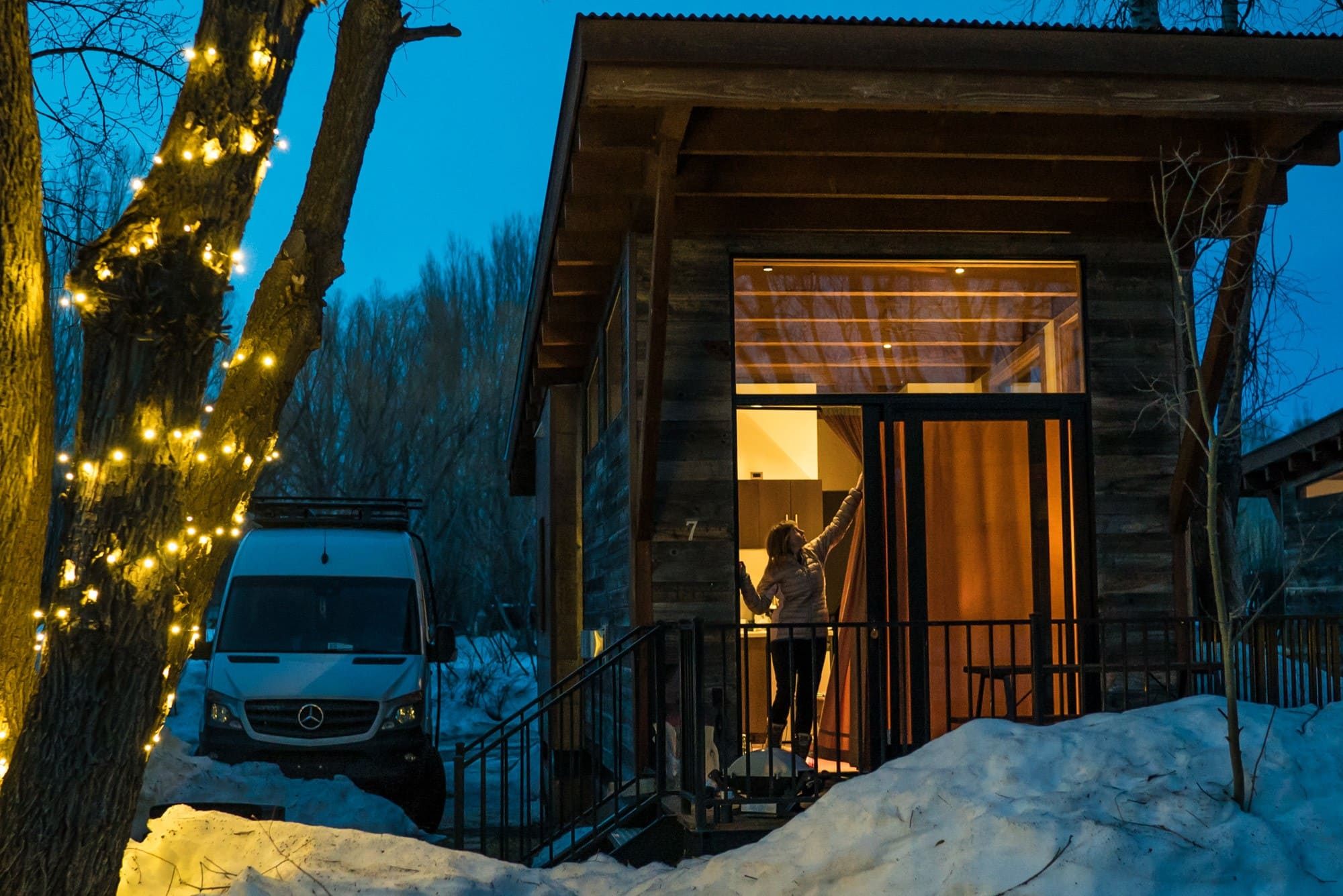 Hotel Review: Fireside Resort Tiny House Cabins in Jackson, Wyoming