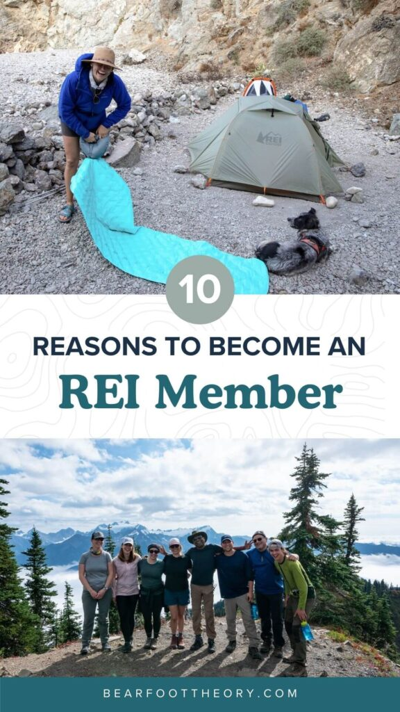 Being an REI Member comes with a ton of perks like member-only coupons and used gear trade-in. Learn why I became an REI Member and about all the benefits you get when you join!