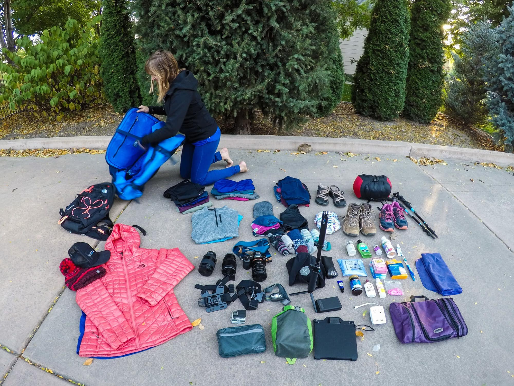 Everest Basecamp Female Packing List