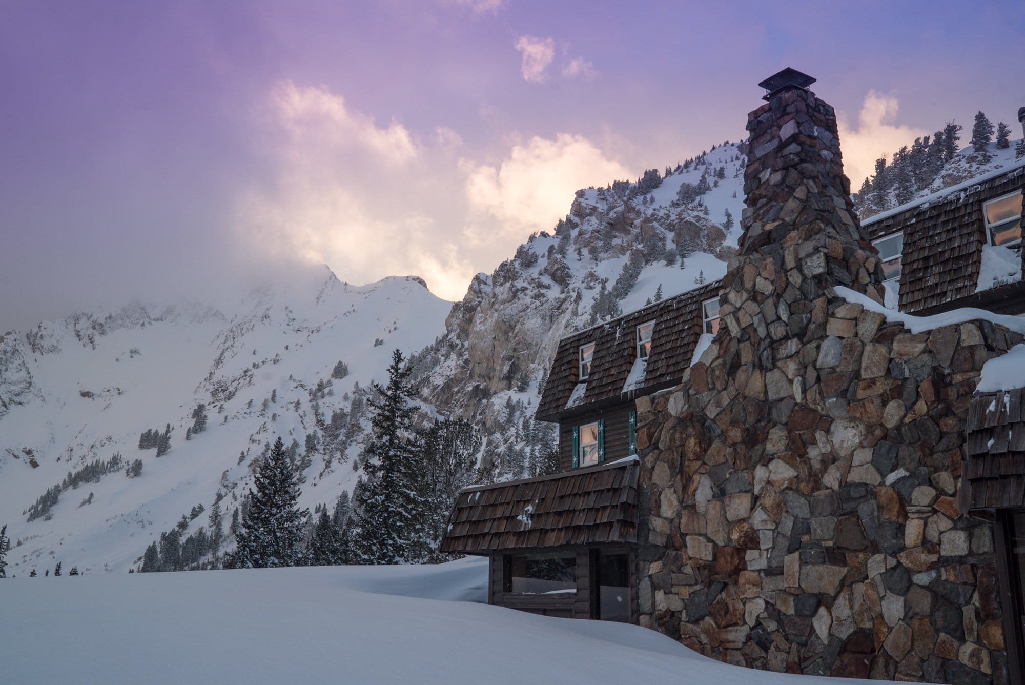 The Alta Peruvian Lodge at Alta (A Mountain Collective Resort) is walking distance to lifts.