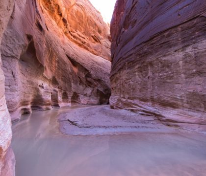 backpacking through Paria Canyon
