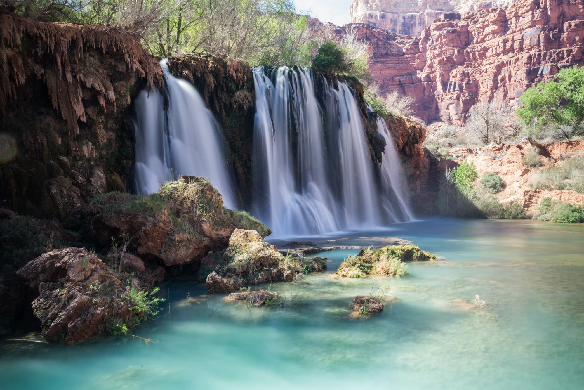The 5 Amazing Waterfalls of Havasu Canyon