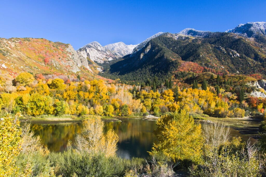 Bell Canyon // Learn about 12 of the best Salt Lake City hikes from alpine lakes to peaks to waterfalls including trail stats and trailhead info.