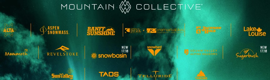 Mountain Collective Pass Resorts