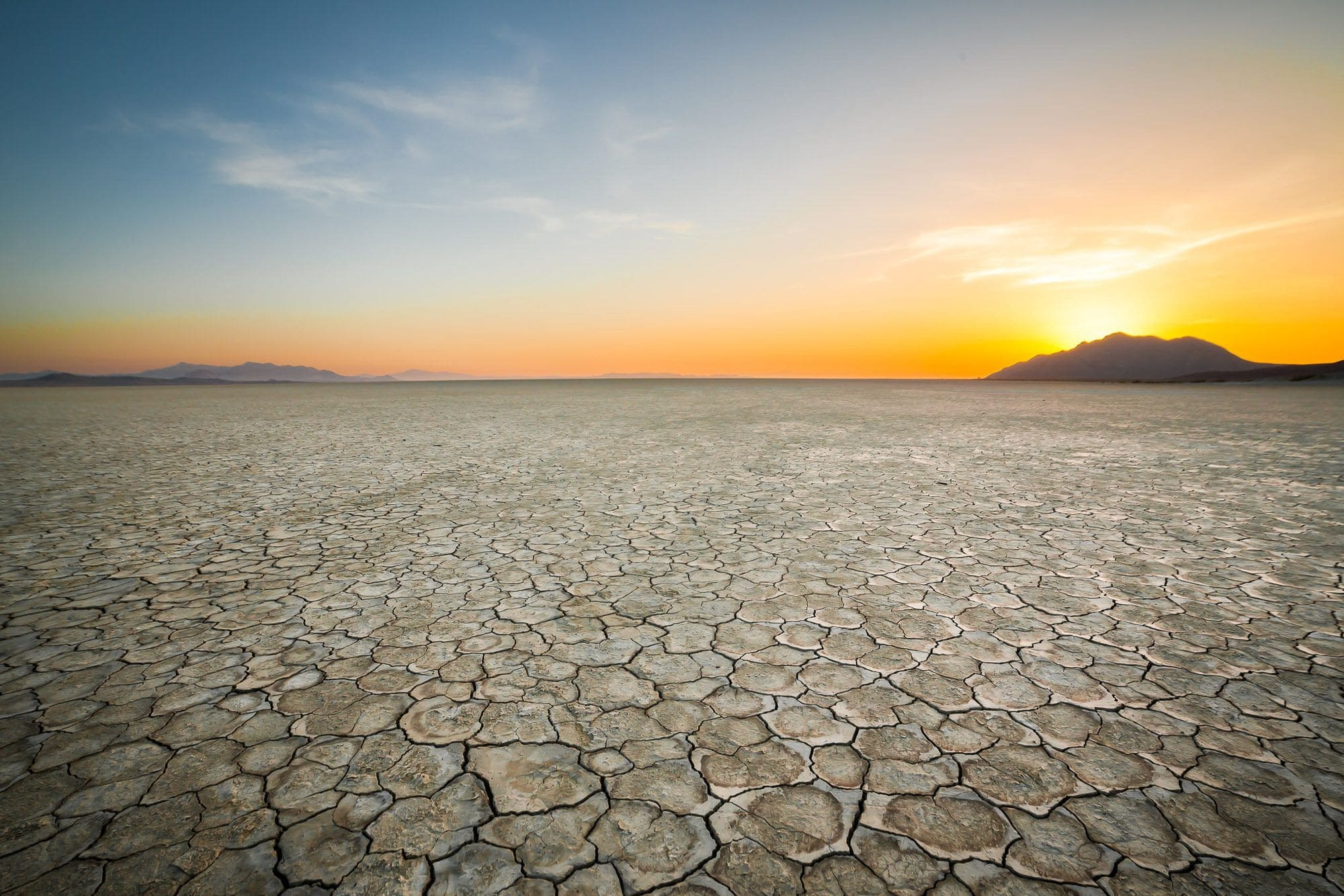 Black Rock Desert // Visit 12 of the best Nevada road trip stops, from the top state parks to hot springs, ghost towns & trails where you'll find solitude and amazing landscapes