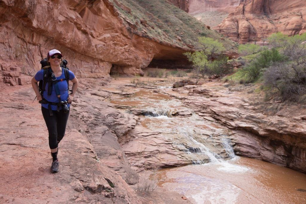 Coyote Gulch // A round-up of the best hikes in Utah. Explore Utah's epic landscapes and get tips for tackling these bucketlist trails.