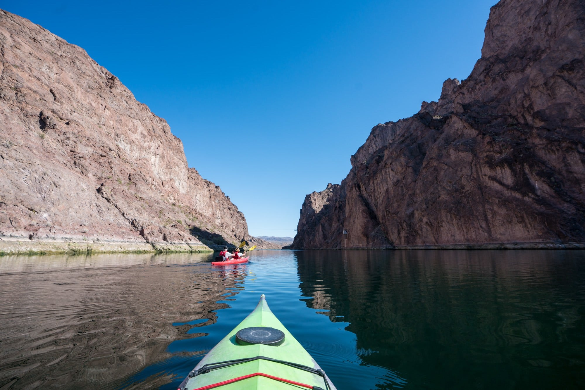 Black Canyon Water Trail // Visit 12 of the best Nevada road trip stops, from the top state parks to hot springs, ghost towns & trails where you'll find solitude and amazing landscapes