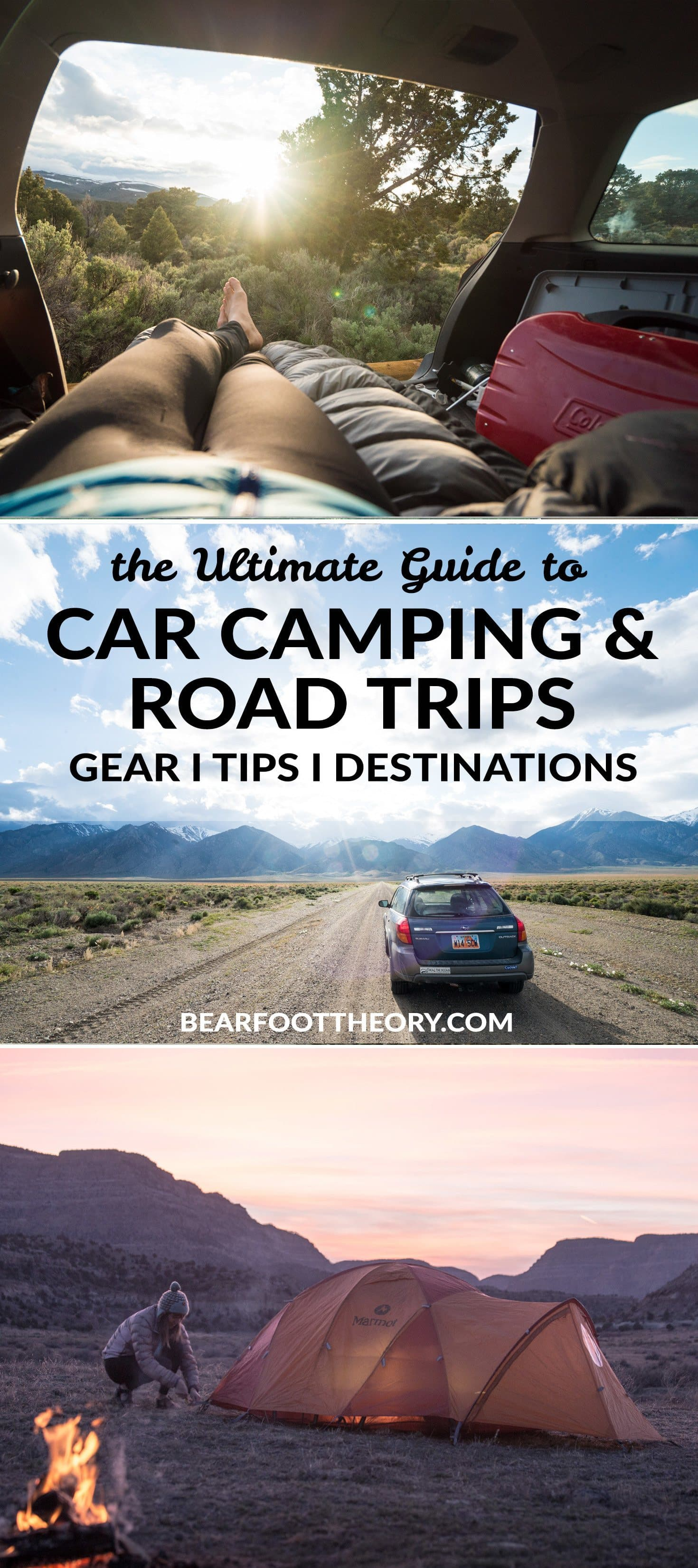 Plan an awesome road trip! Get our road trip and car camping guide featuring our favorite gear, itineraries, safety tips & all of our most popular blog posts.