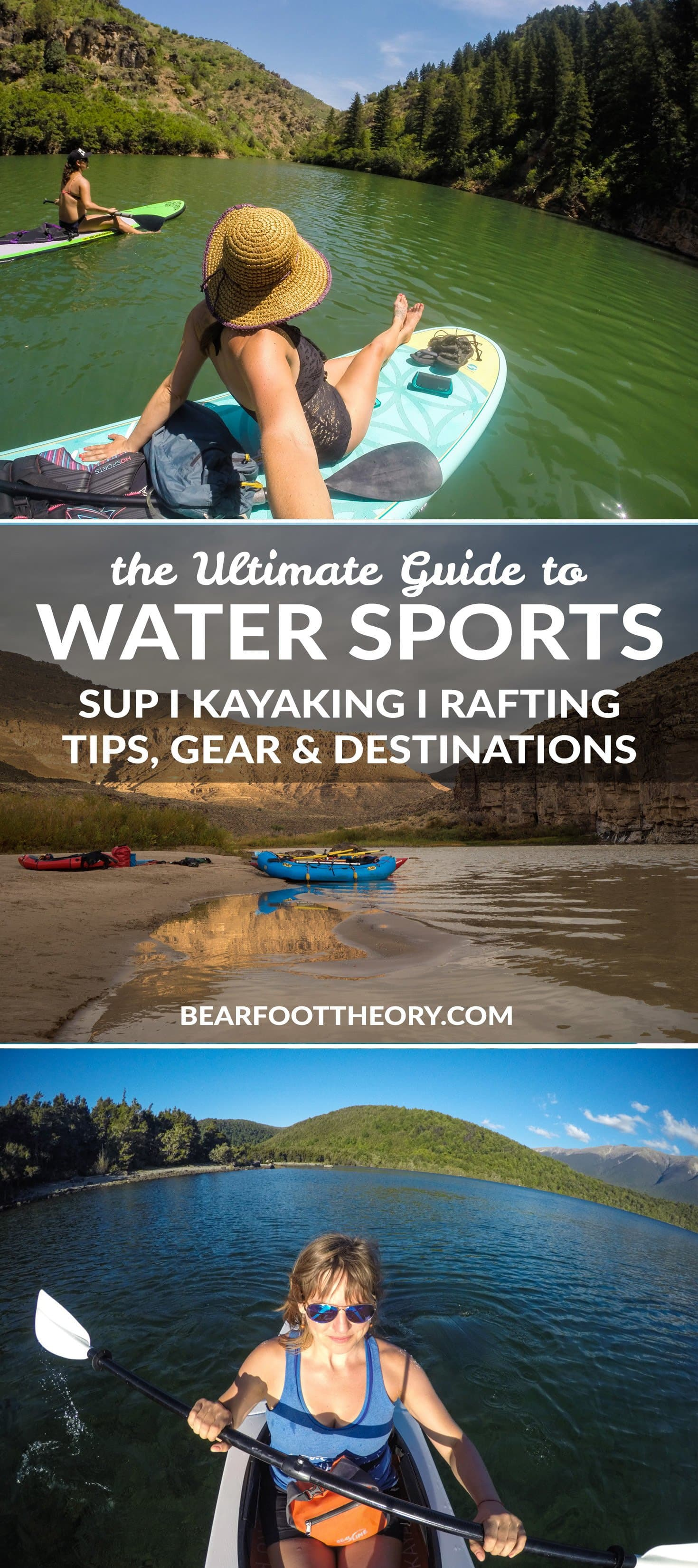 Our ultimate guide to water sports featuring the best SUPing, rafting and kayaking spots, along with helpful tips and advice to keep you afloat!