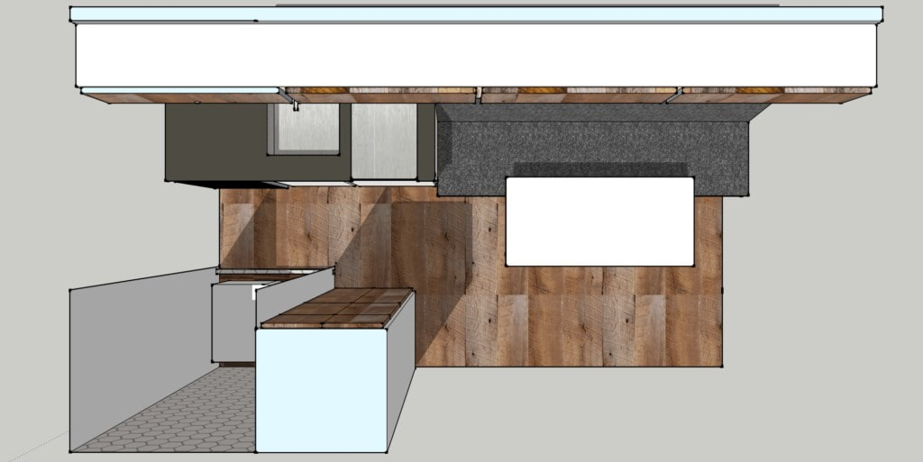 Sprinter Van Floor plan