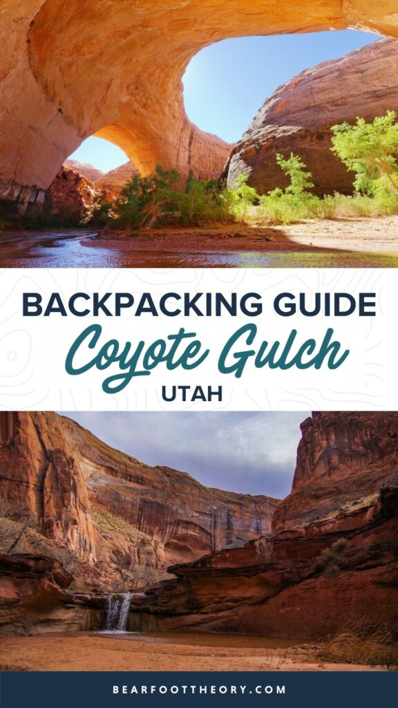 Plan your Coyote Gulch backpacking trip through slot canyons in Utah's Escalante National Monument with our guide to gear, permits, & more.