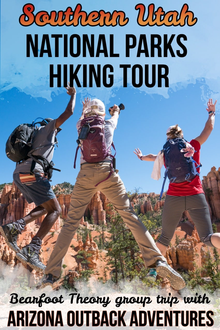 Bryce Canyon National Park // Looking to explore the National Parks of Southern Utah? Check out my recap of the Bearfoot Theory 5 day hiking tour with Arizona Outback Adventures.