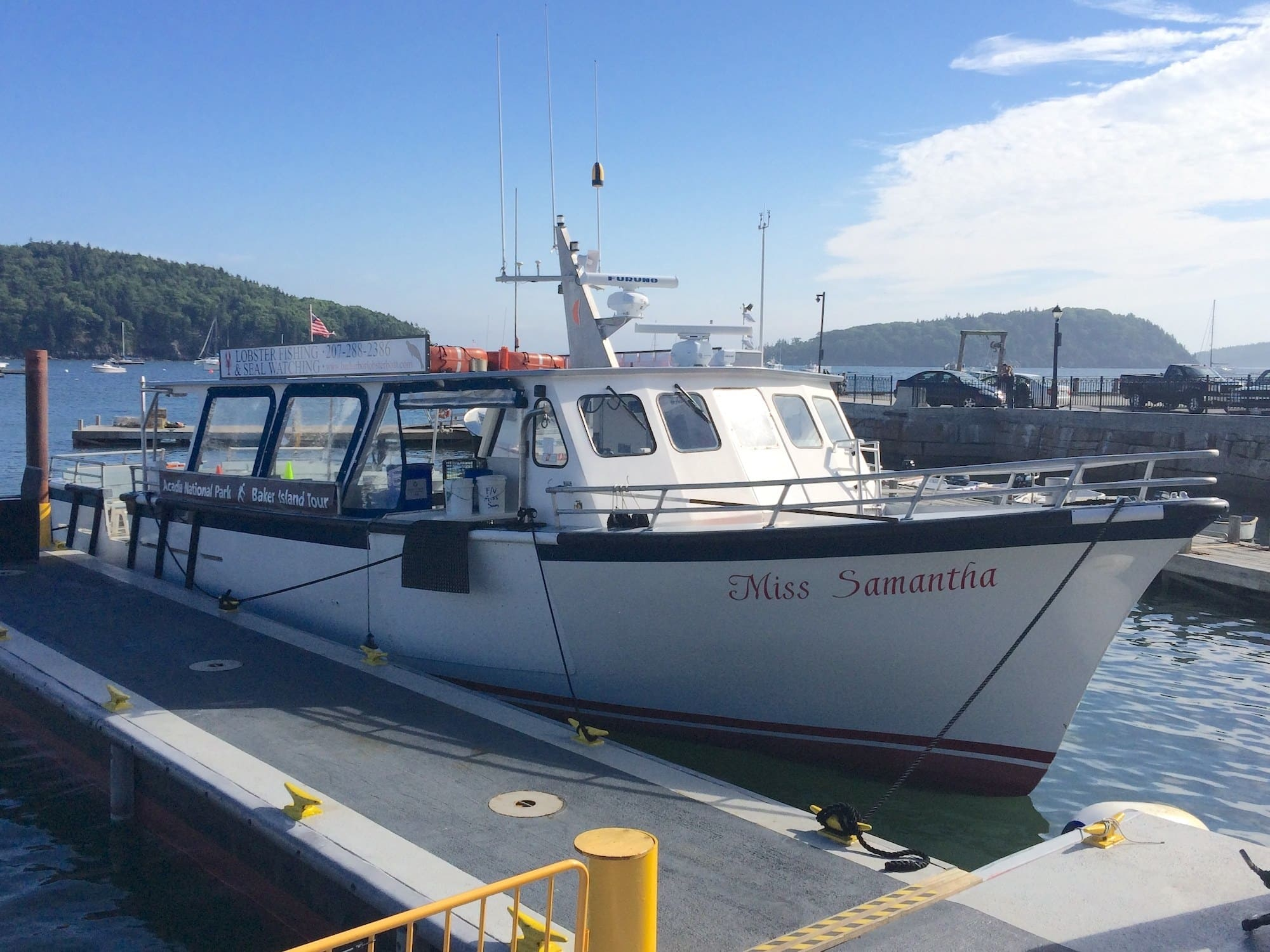 Baker Island Cruise / Here are the top things to do in Acadia National Park in Maine including the best hiking trails, scenic drives, eats, sights, and more.