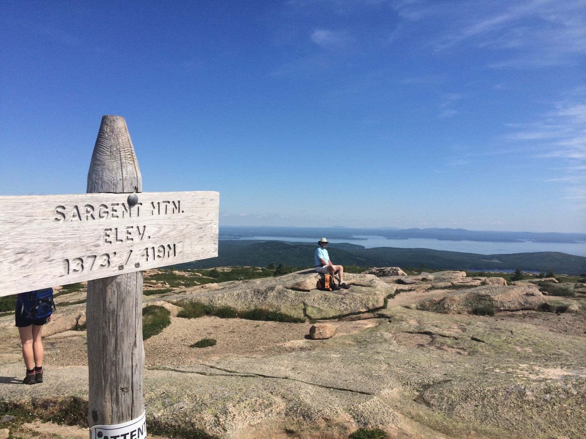 Sargent Mountain is one of the best Acadia National Park trails