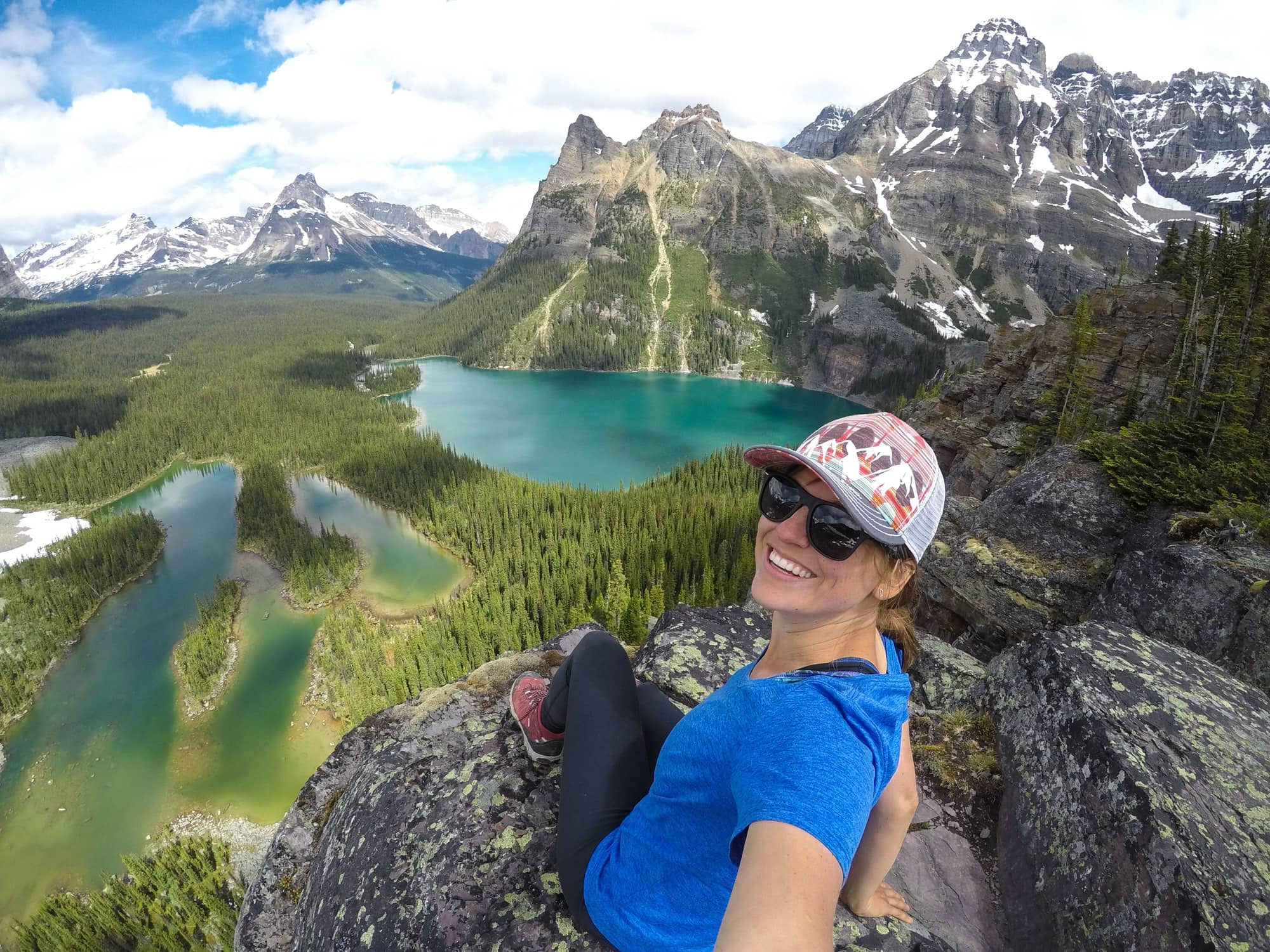 Opabin Prospect // Four days at Lake O'Hara was the highlight of my Canadian Rockies trip. Get my detailed hiking & camping guide to this British Columbia National Park.