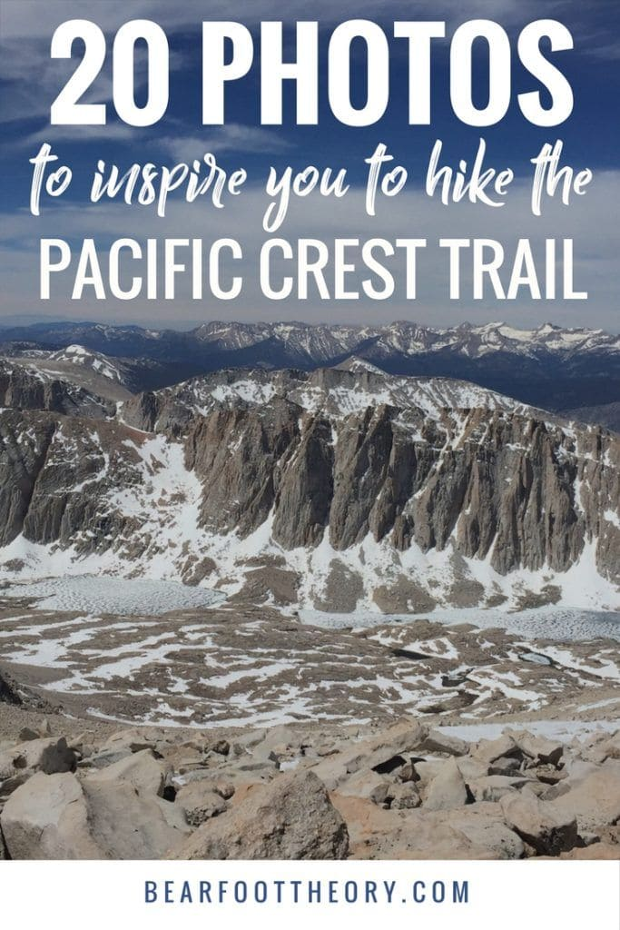Thinking about thru-hiking the PCT? Check out these 20 Pacific Crest Trail photos and the story behind them from a girl who solo-hiked the PCT.