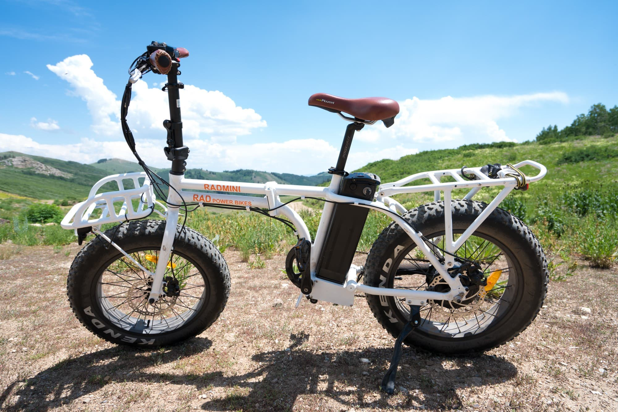 Rad Power Bikes are the ultimate commuter & off-road electric bike. Read my review of the fat-tired RadMini & RadRover ebike & learn how pedal assist works.
