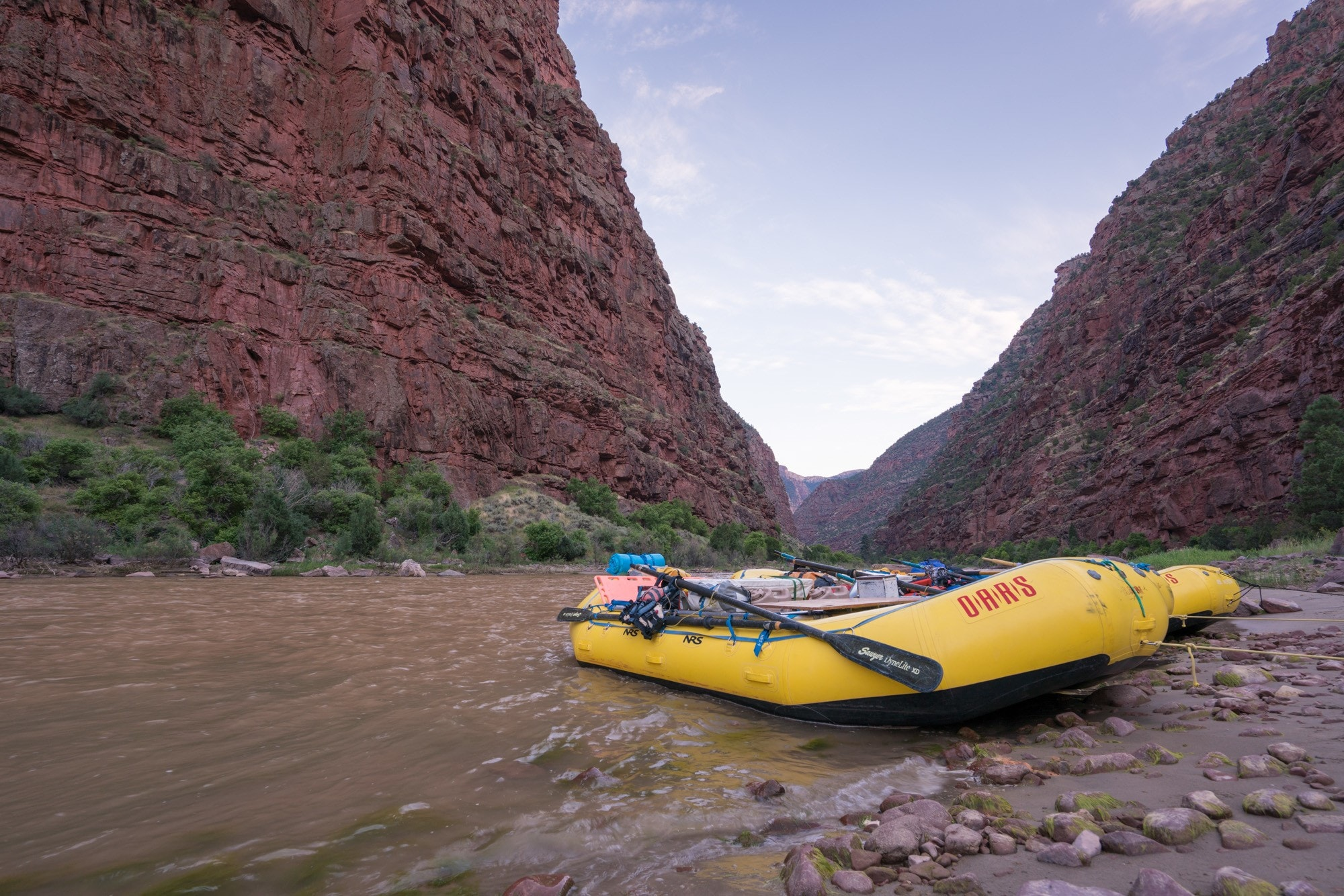 Check out my review & YouTube video of my OARS Gates of Lodore rafting trip and learn what to expect on a multi-day whitewater adventure with OARS.