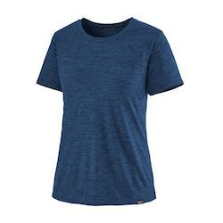 Patagonia Cool Capilene T-Shirt // Not sure what to wear hiking? Learn how to dress for both function & comfort on the trail with this women's best hiking clothes guide.