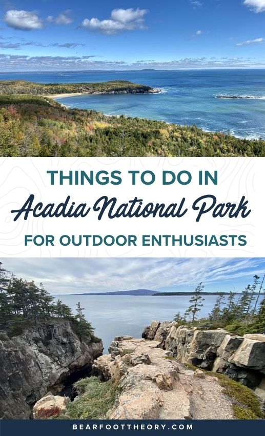 Here are the top things to do in Acadia National Park in Maine including the best hiking trails, scenic drives, eats, sights, and more.