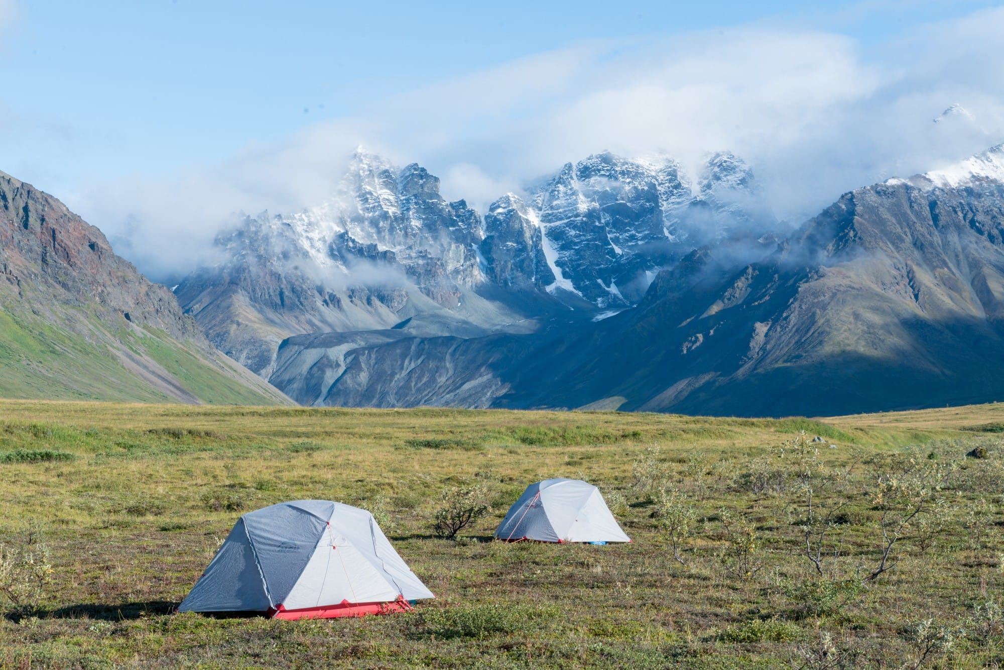 Backpacking in Lake Clark National Park with Alaska Alpine Adventures