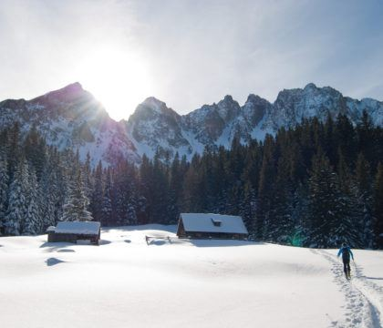 Plan a fun and cozy getaway to one of these winter backcountry huts that are accessible via snowshoeing, cross-country, or backcountry skiing.