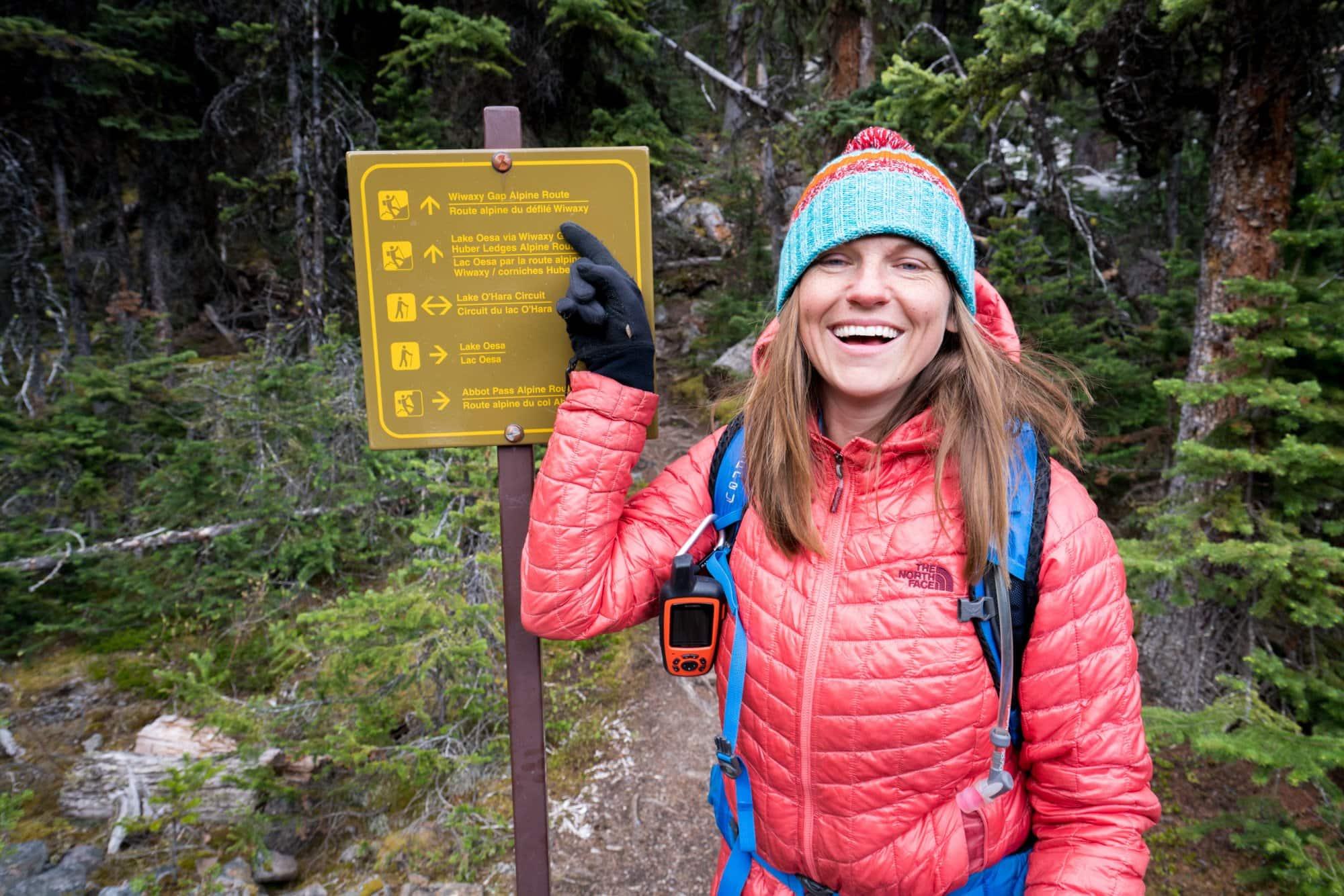 Hiking with a Garmin InReach