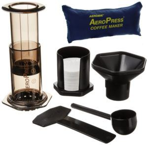 The Aeropress is my favorite way to make coffee on the road!