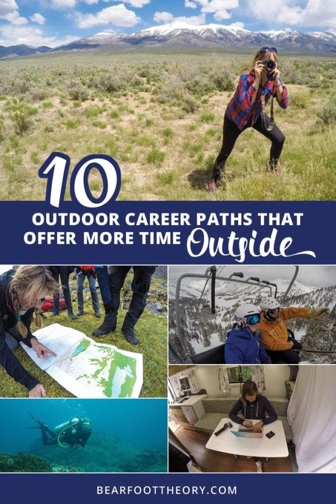 Want to ditch the 9-5 for more time outside? Here are 10 outdoor career paths that will get you out of the cube, providing healthy work-life balance and plenty of fresh air.
