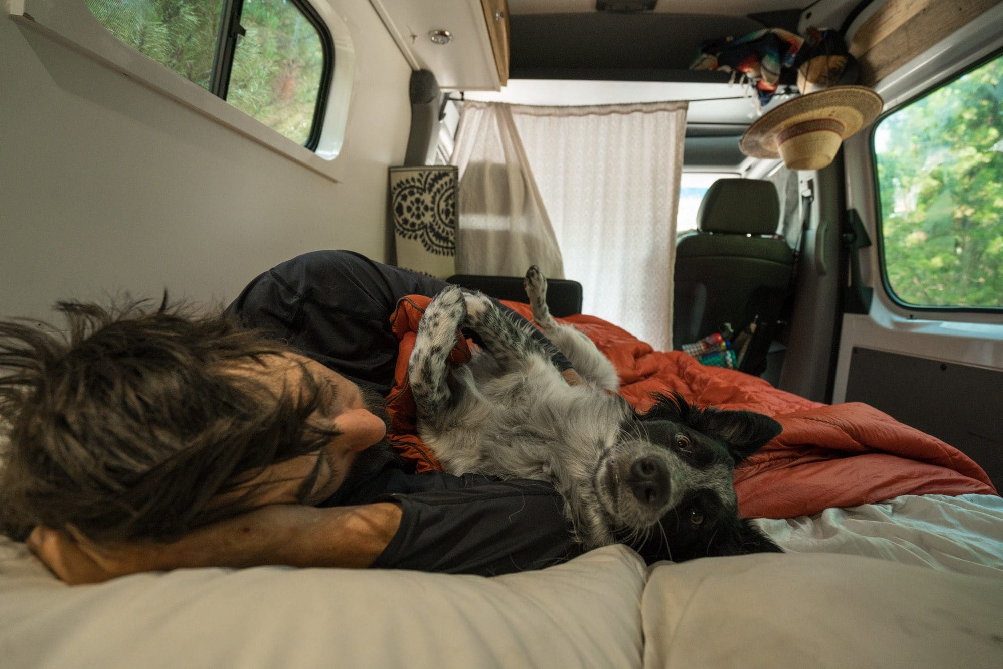 Curious about van life? Get answers in this Sprinter Van FAQ. How to find campsites, showering & laundry, finding community, safety, and more.