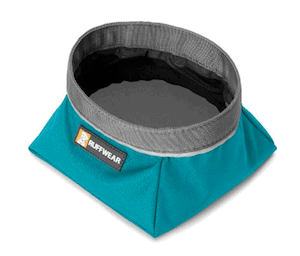 Ruffwear Dog Bowl // Best Outdoor Gifts for Adventure Dog Owners