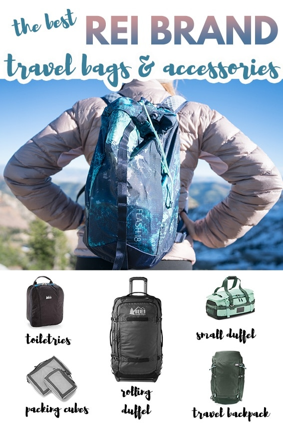 Read my gear review of the best travel bags by REI that offer durability, smart design and function, while being priced lower than competing outdoor brands.