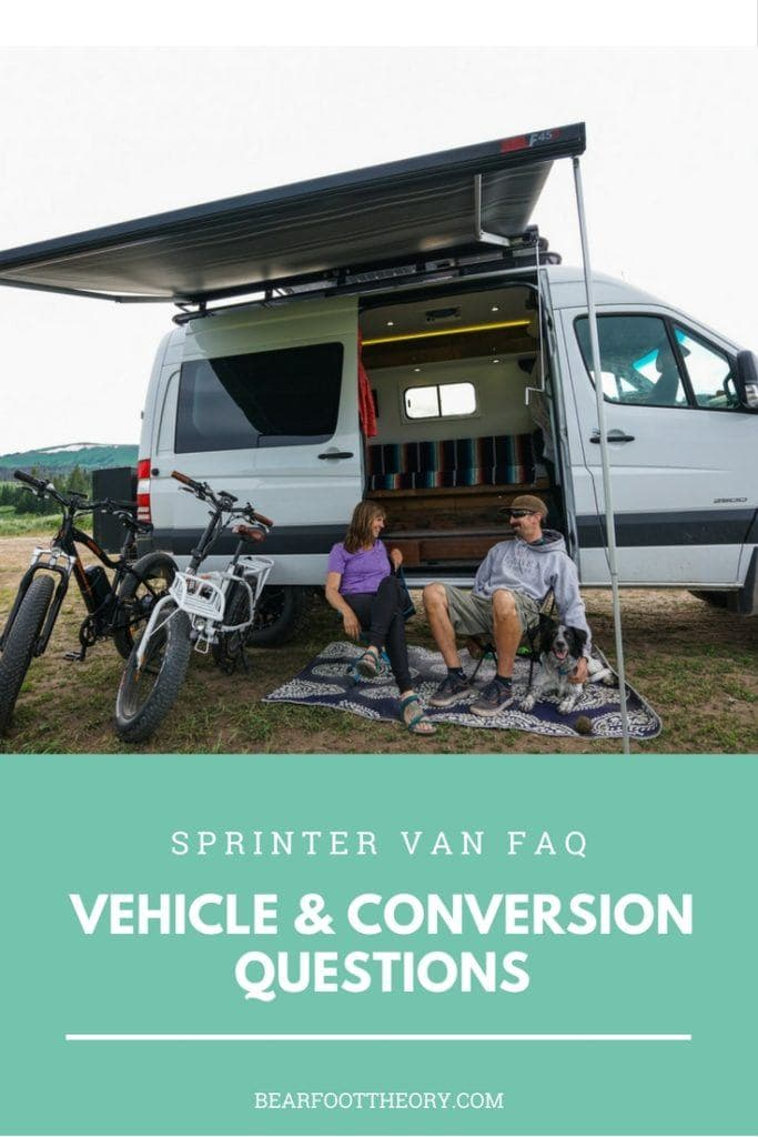 Get the answers to my most common Sprinter Van FAQS. Is the 4x4 necessary, what I'd change about my conversion layout, how much it costs & more