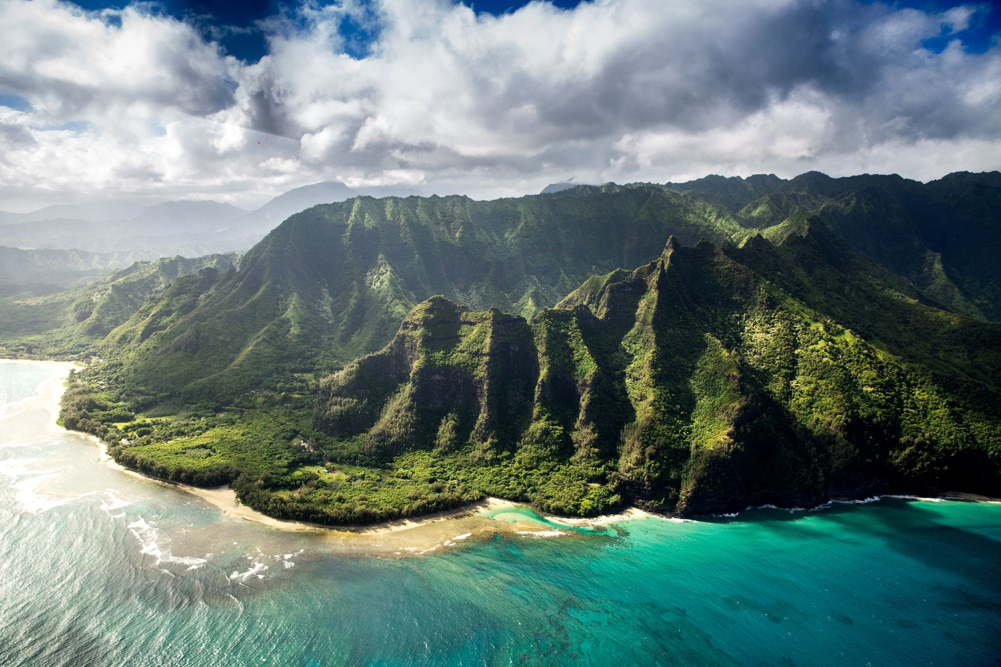 Hawaii // One of the best warm winter destinations on our list where you're sure to find some sunshine