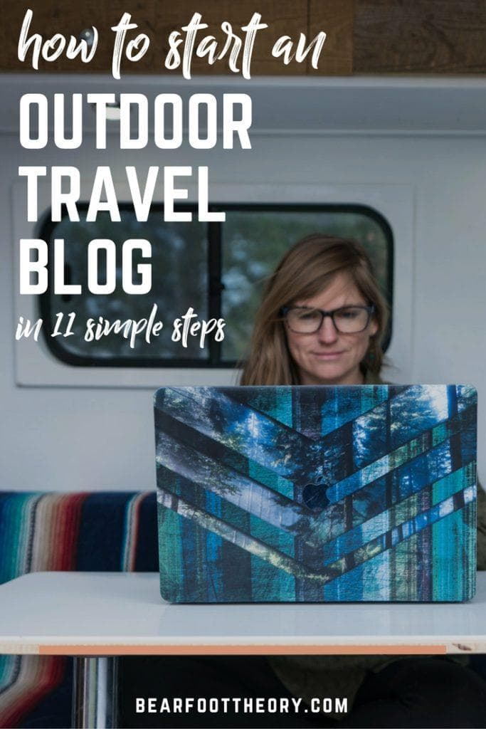 Want to start an outdoor travel blog? This step-by-step guide walks you through choosing a domain name, getting started on social, launching a wordpress site & more.