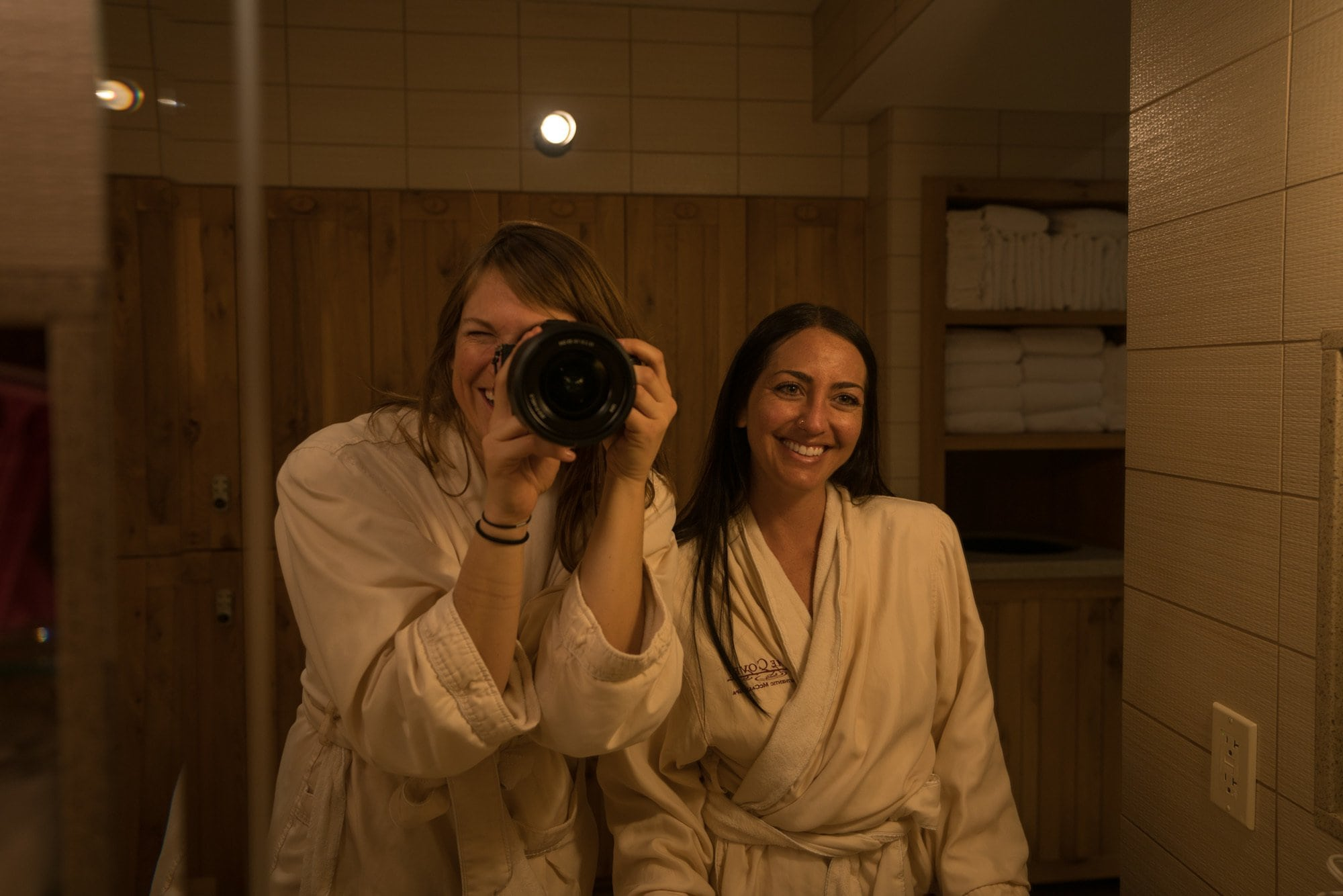 The Cove Spa at the Shore Lodge in McCall, Idaho