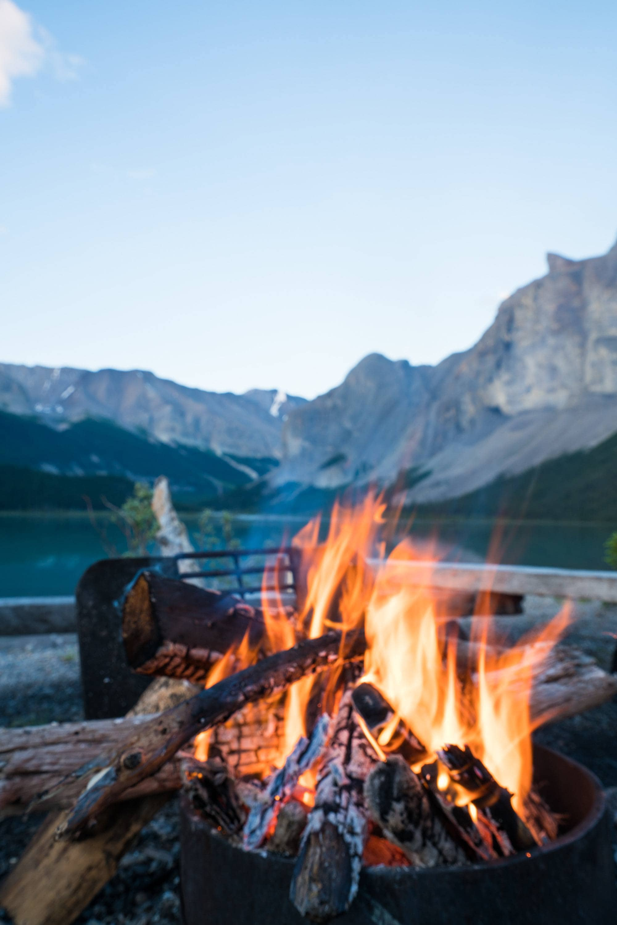 Coronet Creek Campground in Jasper National Park